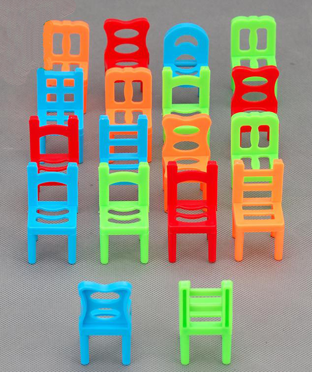 Etonnant BOHS Family Board Game Children Educational Toy Balance Stacking Chairs  Chair Stool Office Game 1SETu003d18PCS In Model Building Kits From Toys U0026  Hobbies On ...