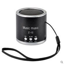 Z12 Mini Cylinder Portable Speaker FM Radio Music Audio Receiver Soundbar Amplifier Hoparlor Support TF USB SD For MP3 Player