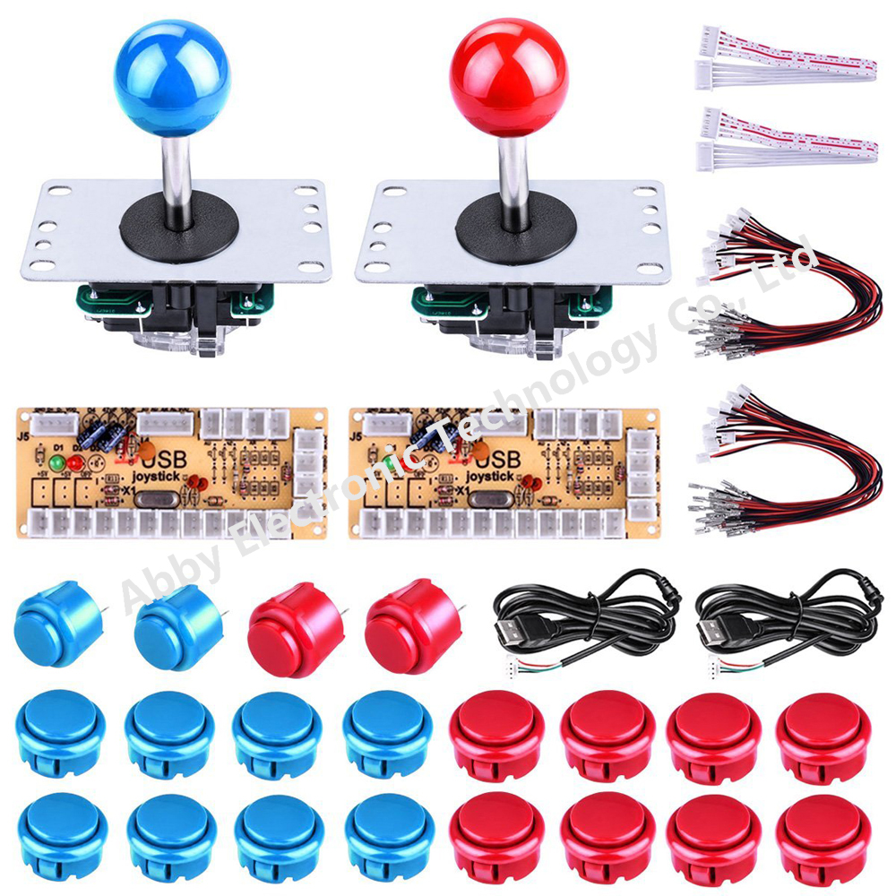 1 kit for single player PC joystick controller, USB to Jamma arcade game, Arcade control panel keyboard encoder image