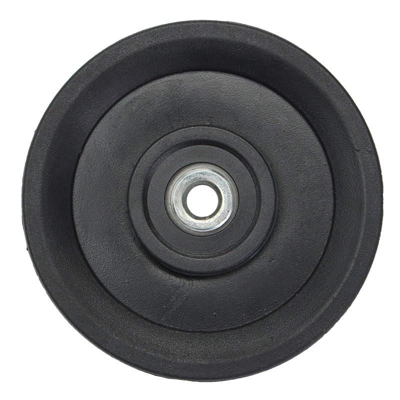 1 unid Fitness deportes de Nylon de la polea de la rueda Cable gimnasio equipos de elevación de prec accesorios 115mm/4,5
