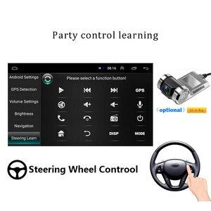 Image 4 - AMPrime 1din Autoradio Android wifi Car Multimedia di Navigazione GPS Autoradio Bluetooth Stereo Radio FM AUX USB Auto lettore Audio