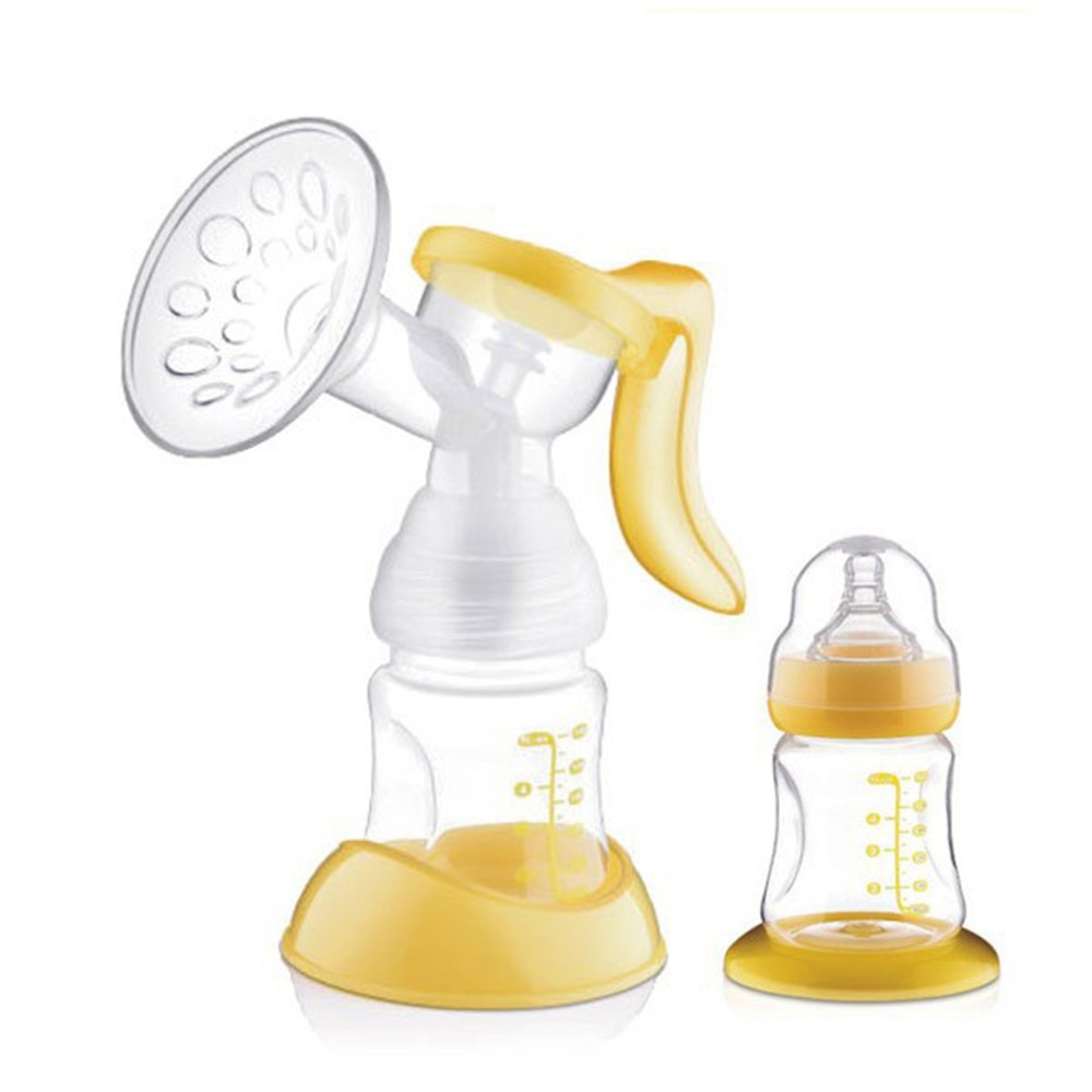 Manual-Breast-Feeding-Pump-Original-Manual-Breast-Milk-Silicon-PP-BPA-Free-With-Milk-Bottle-Nipple-With-Sucking-Function-Breast-Pumps-T0100 (2)
