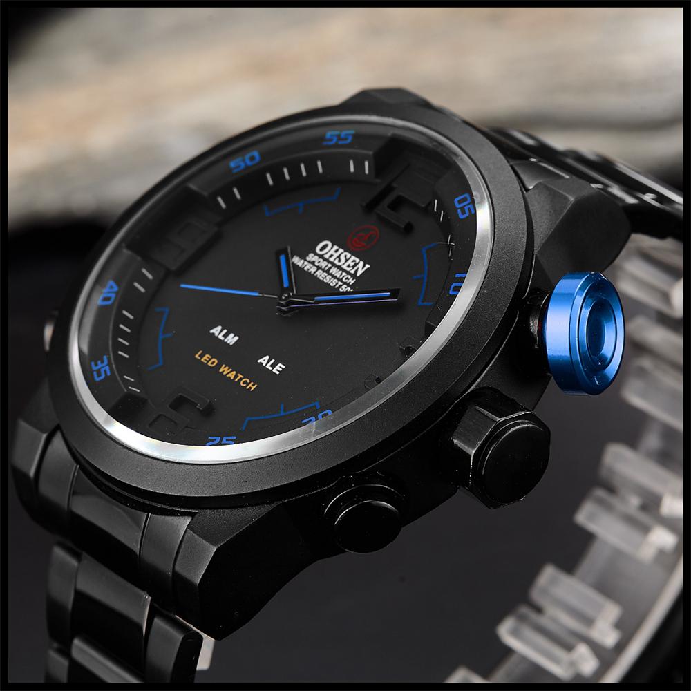 New Watch Men's Military Watches Sports Quartz Wristwatches (24)