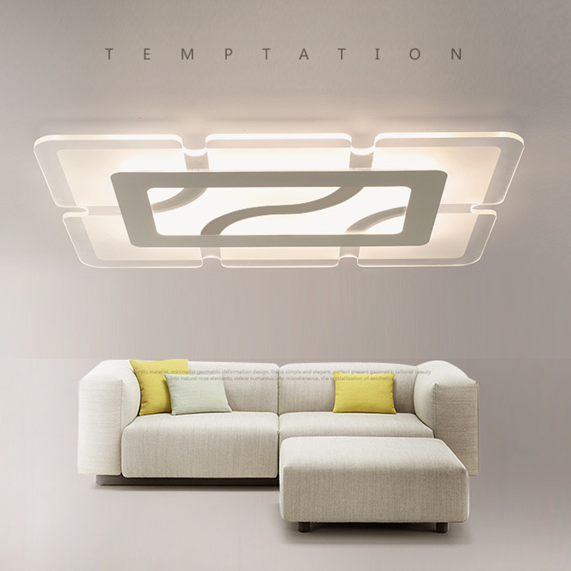 square modern led ceiling lights for bedroom living room foyer ceiling lamp plafonnier luminarias lamps home lighting fixtures modern ceiling lights design luces del techo luminarias living room bedroom dining room lamp home led ceiling lighting fittings