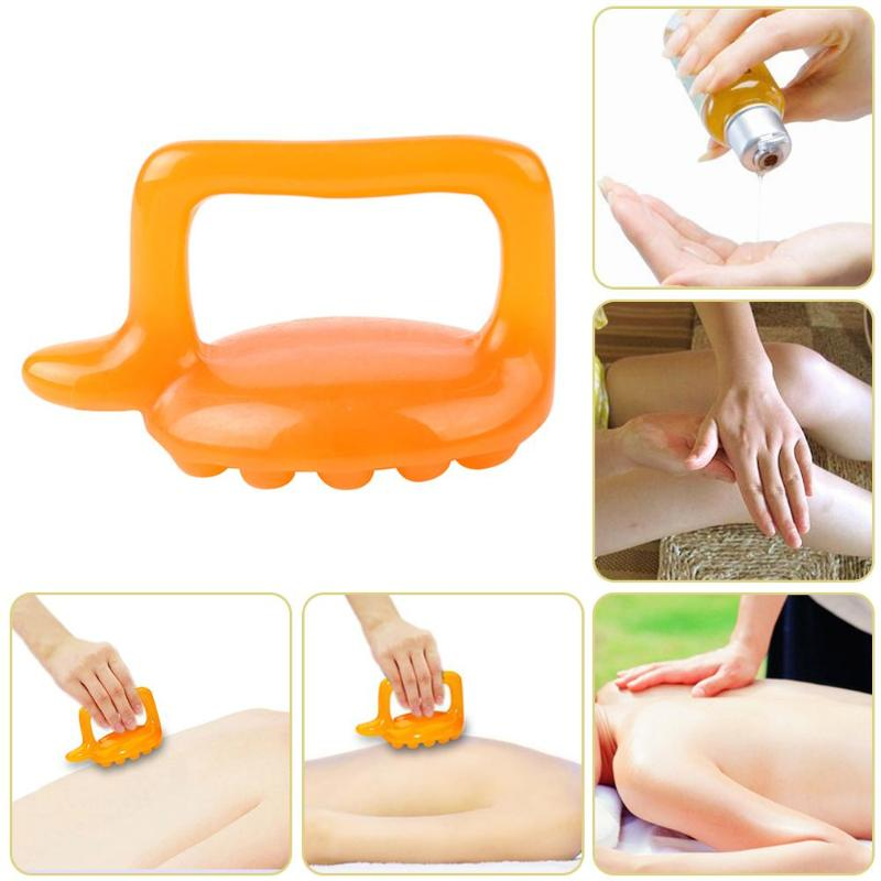 Mini Manual Resin Massager Arm Back Leg Head Acupuncture Point Relax Tools Resin Massager Acupuncture