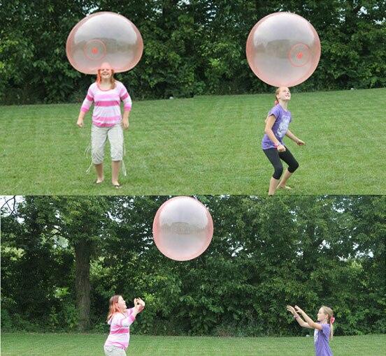 lustige outdoor aufblasbare silikon ballon kinder garten spass magie spielzeug ball spiele kinder party haufen fullung