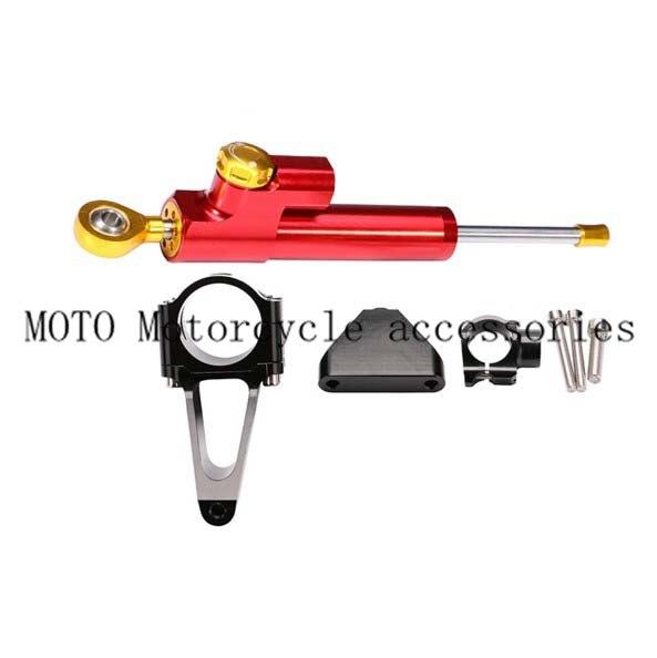ФОТО Motorcycle Steering Damper Stabilize Bracket Suport For Honda CBR 600 F4I 2001 2002 2003 2004 2005 2006 2007
