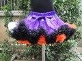 Muchachas de la princesa de La Gasa Mullida pettiskirts Del Tutú de la falda de vacaciones Venta Caliente Falda Del Bebé para adolescentes Ropa PETS-044