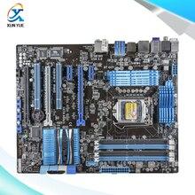 Для p8p67 pro original used desktop материнских плат для intel p67 Socket LGA 1155 Для i3 i5 i7 DDR3 32 Г SATA3 USB3.0