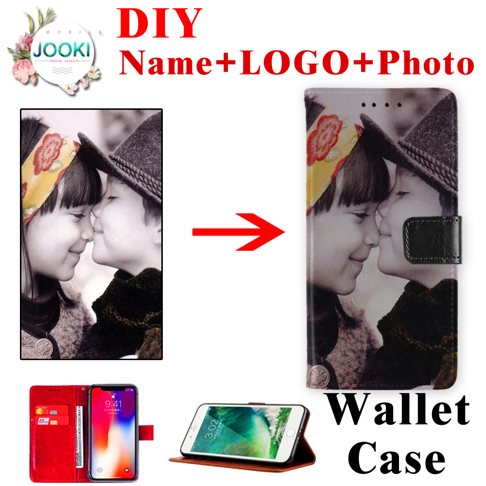 Cover <font><b>Oukitel</b></font> <font><b>C11pro</b></font> Customized DIY Print Photo Phone Leather Pouch Case For <font><b>Oukitel</b></font> C11 pro Wallet TPU Flip Cover Birthday Gift image