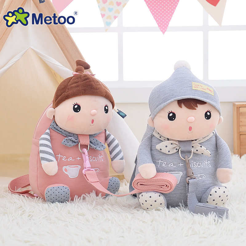 New Arrival Cute Cartoon Bags Kids Doll Plush Backpack Toy Children Shoulder Bag for Kindergarten Girl Metoo BackpackNew Arrival Cute Cartoon Bags Kids Doll Plush Backpack Toy Children Shoulder Bag for Kindergarten Girl Metoo Backpack