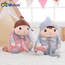 Новое поступление милые Мультяшные сумки Детские куклы Плюшевый Рюкзак игрушка детская сумка на плечо для детского сада девочки Metoo рюкзак