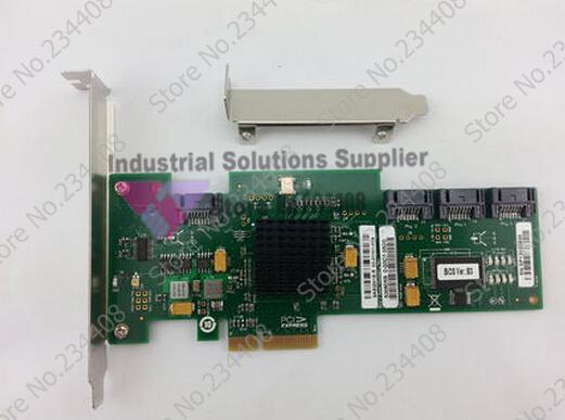 ФОТО Lsi Sas3041e-r Sas Array Card 1064e Box Bag B3 Chip
