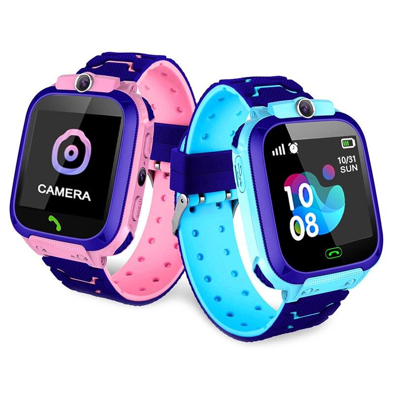 S13 Relógio Inteligente para As Crianças LBS Rastreador SmartWatch Chamada SOS para Crianças Anti Perdeu O relógio Monitor de Bebê para Menina Meninos para iOS Android