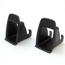 цена на 2 Pcs Red Universal Child Safety Slot Baby Safety Belt Isofix Car Fixed Auto Child Safe Buckle