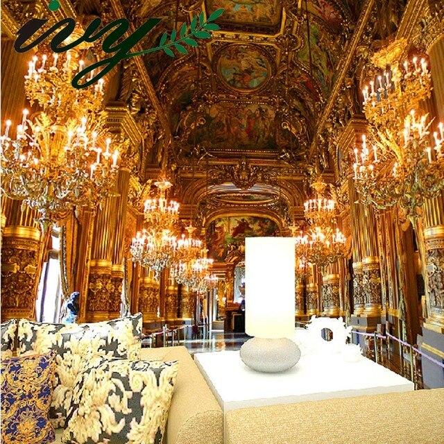 Home Design 3d Gold: Photo Wall Paper Murals Luxury European Castle Wallpaper