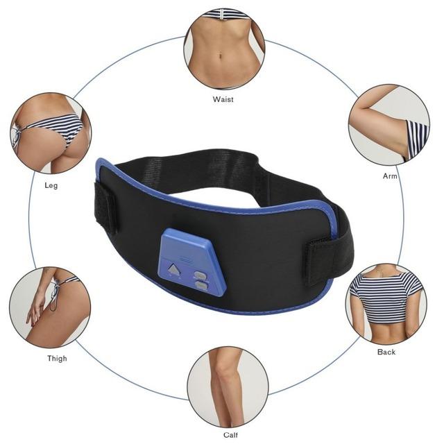 Electronic Body Exercise Toning Belts