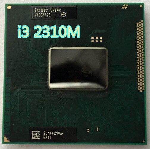 intel core i3 2310m i3 2310 cpu notebook processor i3