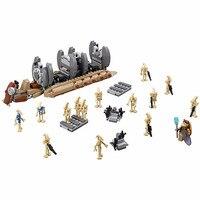565pcs Bela Diy Star Wars Battle Droid Troop Carrier Building Blocks Compatible With Legoingly Bircks Toys