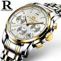 ONTHEEDGE Montre homme Para Hombre Relojes de Primeras Marcas de Lujo de Los Hombres Del Deporte Militar Luminoso Reloj de Acero Reloj de Cuarzo relogio masculino