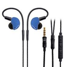 LZ Z05A auricular interno con unidad dinámica, auricular HIFI IEM de Metal con separador desmontable, Cable MMCX, MMCX, desmontable, LZ A6, 2019