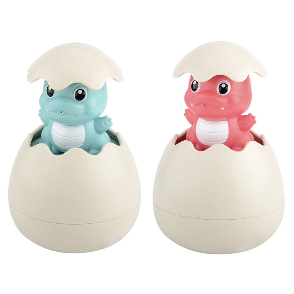 Baby Bath Bathroom Toy Dinosaur Egg Plastic Water Spray Sprinkler Cute Shower Clouds Rain Toy Children Supplies Swimming Toys