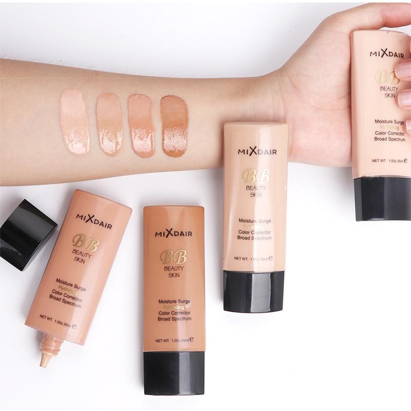 4 Colors Whitening Moisturizing Foundation Liquid Brighten Skin Color Waterproof Concealer Makeup Foundation Base Makeup TSLM1