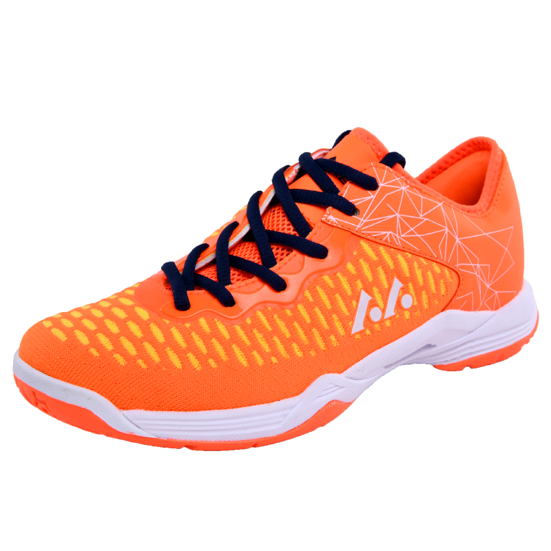 Badminton-Shoes Tennis-Sneakers Training Breathable Women Lace-Up For Couples Athletic