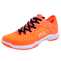 Breathable Badminton Shoes for Couples Lace up Sport Sneakers Men Women Training Athletic Shoe Anti Slippery Tennis Sneakers