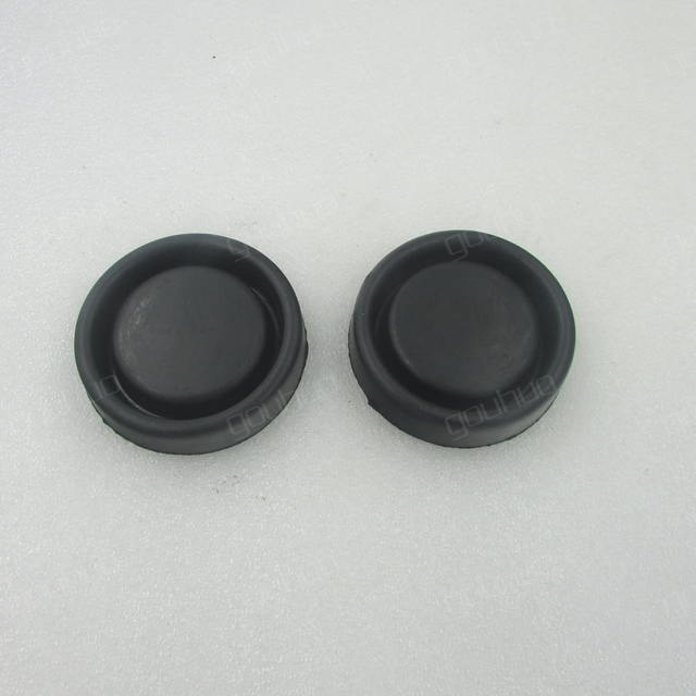 for BYD F0 front headlight back cover dust proof waterproof cover the high beam headlight cover rubber back cover 1pcs