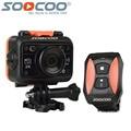 Original soocoo s70 câmera ação wi-fi 2 k 30fps esporte à prova d' água nua mini DV Cam 1080 P HD 170 Graus Lente 2.4G Controle Remoto