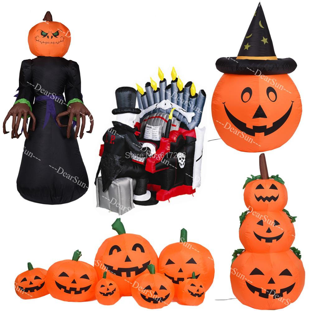 Halloween gonflable Vampire décoration extérieure grande fête cour décoration citrouille décoration