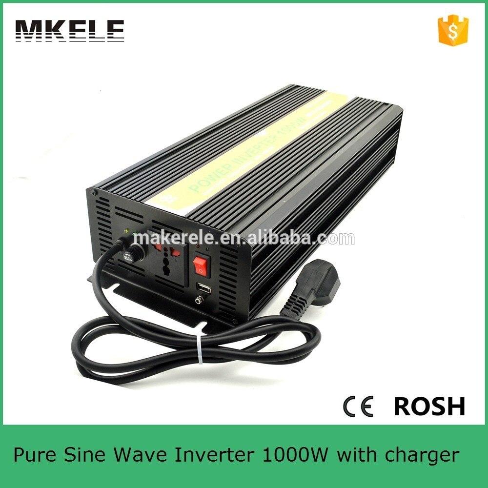 Inverseur de puissance de l'inverseur 1kw 24 v d'ipower de MKP1000-242B-C, inverseur de batterie rechargeable 220/230vac hors sortie simple de grille