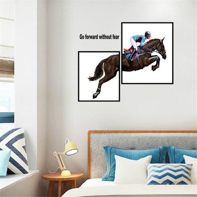 Idfiaf nuovo cavallo, sport equestri spirito muro per attaccare ...