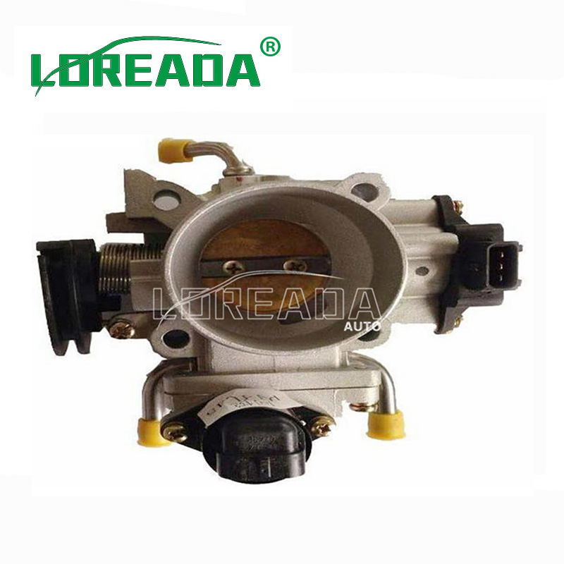 Loreada Throttle body for JAC TONGYUE 4G13 4G15 Engine UAES System Diameter 45mm OEM quality with Sensor IAC brand new orignial throttle body for jac srv jac rine delphi system bore size 55mm 100
