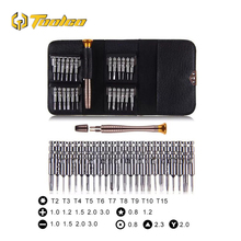 Toolgo 25 in 1 Torx Screwdriver Phone Repair Tool Hand Tools Dismantling Set  for Computer Android Apple