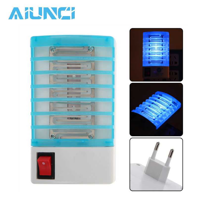Anti Mosquito Trap Mini Night Light Insect Mosquito Killer Lamp Repellent Mosquito Flies HouseFly Home Safe Repelente De Moskito