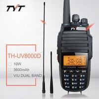 Walkie Talkie 10W TYT TH UV8000D VHF UHF Ham CB Two Way Radio Station Amateur HF Transceiver TH UV8000D Radio Scanner Repeater
