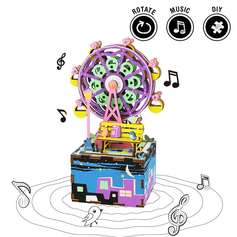 Robotime-Rotatable-DIY-Ferris-Wheel-Wooden-Music-Box-Clockwork-Type-Home-Decor-Beauty-Gifts-For-Friends