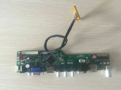 Комплект Latumab для телевизора LP154WX4(TL)(C3) + HDMI + VGA + USB контроллер ЖК светодиодный на, плата драйвера, бесплатная доставка-5