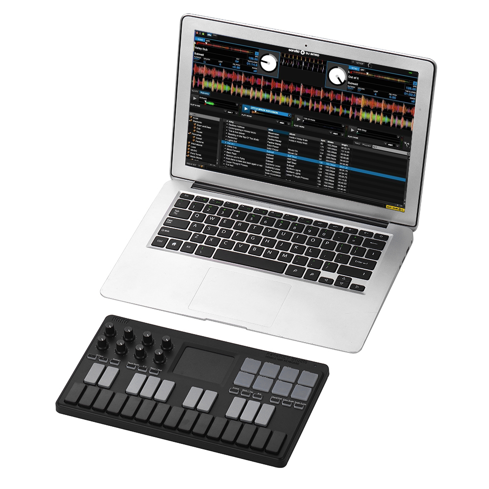 korg nanokey studio portable midi keyboard controller supports wireless bt wired usb. Black Bedroom Furniture Sets. Home Design Ideas