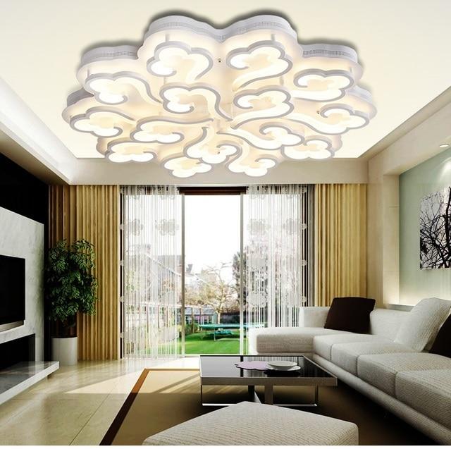 LED runde der modernen wohnzimmer deckenleuchten warmes schlafzimmer ...