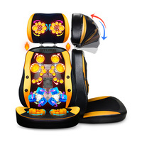 Full Body Electric Massage Chair Office Pad Vibration Mat Heat Neck Back Cervica Massager Cushion China
