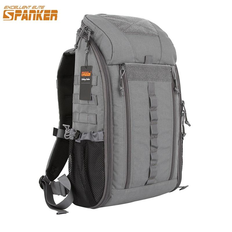 Mochila de deporte al aire libre, mochila táctica MOLLE, mochila impermeable de nailon, mochila de senderismo