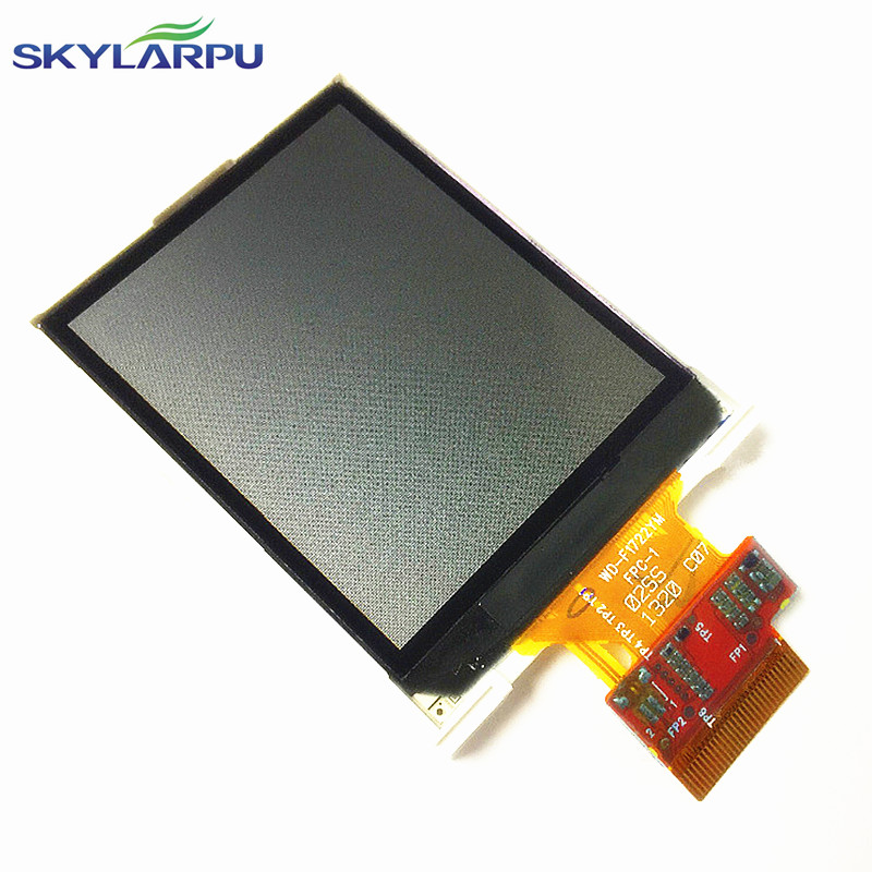 skylarpu 2.2 inch WD-F1722YM FPC-1 LCD screen for WD-F1722Y22YM-6FLW c Handheld GPS LCD display screen panel Repair replacement tq7037cust fpc lcd displays screen