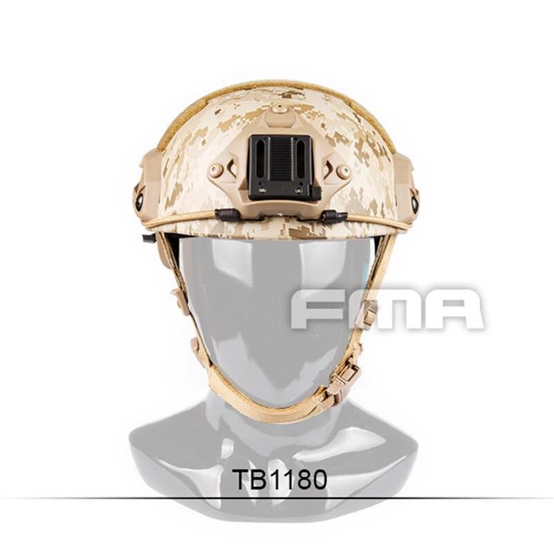 FMA New Desert Camouflage Maritime Helmet AOR1 TB1180 M L L XL for Airsoft Climbing