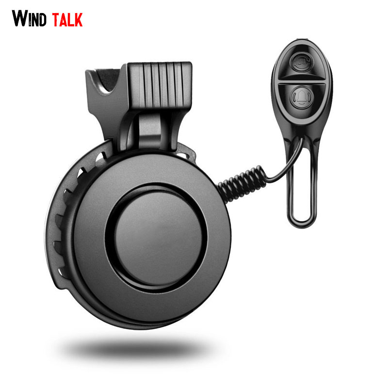 Wind Talk 3 Sound Modes USB Rechargeable Mini Bicycle Bell Electric Waterproof 120db Cycling Bike Horn Ring For Mtb Road Bike цена
