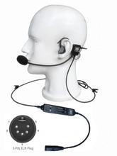 חדש איירבוס מחבר באוזן סוג תעופה אוזניות L 1 סופר אור משקל עם שקט כמו ANR! באוזן סוג טייס אוזניות