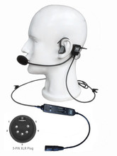 NEW airbus connector in ear type aviation headset L 1 Super Light Weight with   Quiet as ANR! in ear type pilot headset