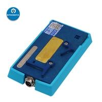 SS T12A estação de aquecimento com T12A FACE id sulco de aquecimento para iphone x xs max face id cabo distância sensor desoldering reparação|Conj. ferramentas elétricas| |  -